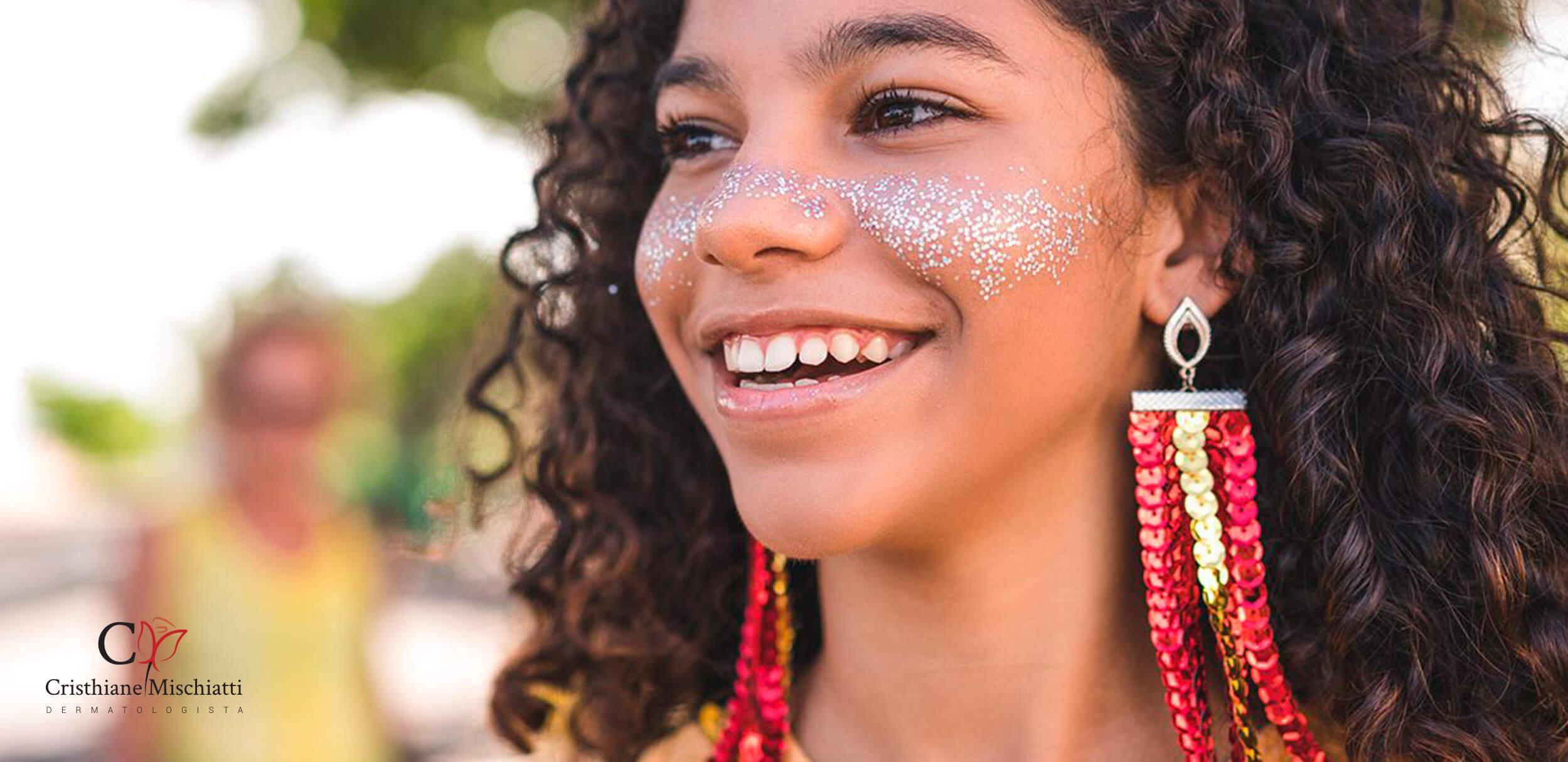 Cuidados com a pele no Carnaval